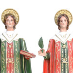 statua Santi Cosma e Damiano cm 80 - volto