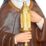 statua Santa Chiara cm 100 - mani