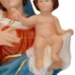 statua Madonna delle Grazie cm 47 - mani