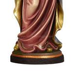statua Madonna dell' amore in legno - base