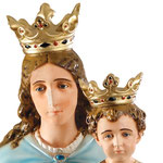 statua Maria Ausiliatrice cm 160 - volto