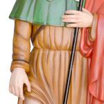 statua San Rocco cm 120 -mani