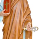statua San Pietro cm 155 -mani