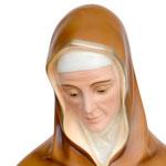 vendita statua Sant ' Anna cm. 143 in vetroresina - volto
