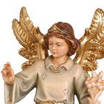 statua angelo annunciatore - volto