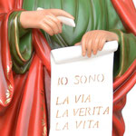 statua San Giovanni evangelista cm 156 - mani