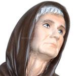 statua San Padre Ludovico da Casoria cm 25 -volto