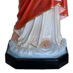 statua Sacro Cuore di Gesù benedicente cm 140 -base
