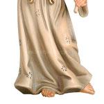 statua angelo annunciatore - piedi