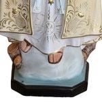 statua Madonna di Fatima cm 120 - base