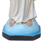 statua Sacro Cuore di Gesù braccia aperte cm 50 -base