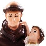 statua Sant' Antonio cm 30 - volto