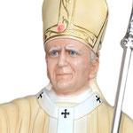 statua San Giovanni Paolo II cm 155 - volto