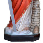 statua Santa Barbara cm 130 - base
