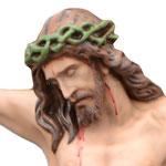 statua corpo di Cristo cm 105 -volto