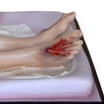 statua Gesù morto cm 150 -piedi