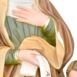 vendita statua Sant ' Anna cm. 85 in resina. - mani