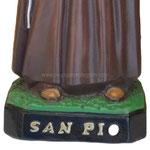 statua San Padre Pio cm 50 -base