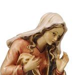 statua Maria - volto
