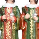 statua Santi Cosma e Damiano cm 25 - mani