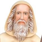 statua Sant' Antonio Abate cm 100 - volto