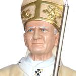 statua San Giovanni Paolo II cm 130 - volto
