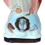 statua Sacro Cuore di Gesù braccia aperte cm 30 -base