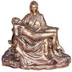 statua Madonna Pietà bronzo cm 130