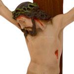 statua Cristo in croce cm 50 -volto