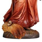 statua Santa Notburga in legno - base