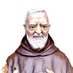 statua San Padre Pio cm 135 -volto