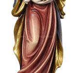 statua Madonna dell' amore in legno - busto