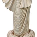 statua Madonna di Medjugorje Regina Pacis in legno - busto