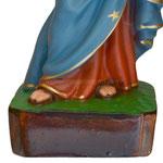 statua Madonna delle Grazie cm 35 - base