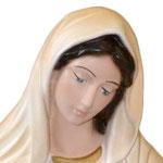 statua Madonna di Medjugorje cm 40 - volto
