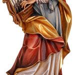 statua Santa Cecilia in legno - busto
