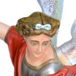statua San Michele cm 160 -volto