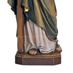statua San Giuda Taddeo in legno - base