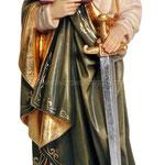 statua San Paolo in legno - busto