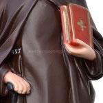 statua Sant' Antonio Abate cm 40 - mani
