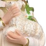 vendita statua Sant' Agnese in resina cm 40 - mani
