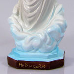 statua Madonna di Medjugorje cm 30 illuminata - base