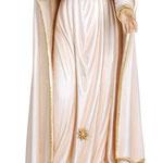 statua Cuore Immacolato di Maria in legno - busto