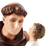 statua Sant' Antonio cm 65 - volto