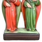 statua Santi Cosma e Damiano cm 28 - base