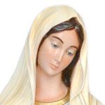 statua Madonna di Medjugorje cm 130 - volto