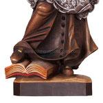statua San Giovanni Nepomuceno in legno - base