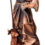 statua San Leonardo in legno - busto