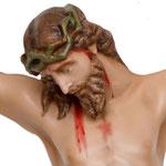 statua corpo di Cristo cm 80 -volto