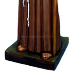 statua San Padre Ludovico da Casoria cm 185 -base